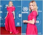 Ellie Bamber In Salvatore Ferragamo  @ 2018 British Independent Film Awards