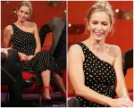 Emily Blunt In Cinq à Sept @ The Graham Norton Show