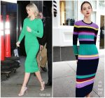 Emily Blunt In  Lela Rose @ Good Morning America