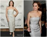 Felicity Jones In Gabriela Hearst @ DuJour Cover Party