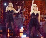 Gwen Stefani In Nedo  @ The Late Late Show with James Corden