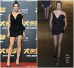 "Hailee Steinfeld In Saint Laurent @ ""Bumblebee"" Beijing Premiere"