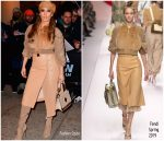 Jennifer Lopez in Fendi Couture Promoting a 'Second Act' in New York