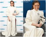 Jennifer Lopez In Stephane Rolland  @ Siriusxm