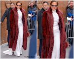 Jennifer Lopez In Stephane Rolland @ The View