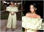 Laura Harrier In Marc Jacobs @ Art Basel Miami Beach 2018