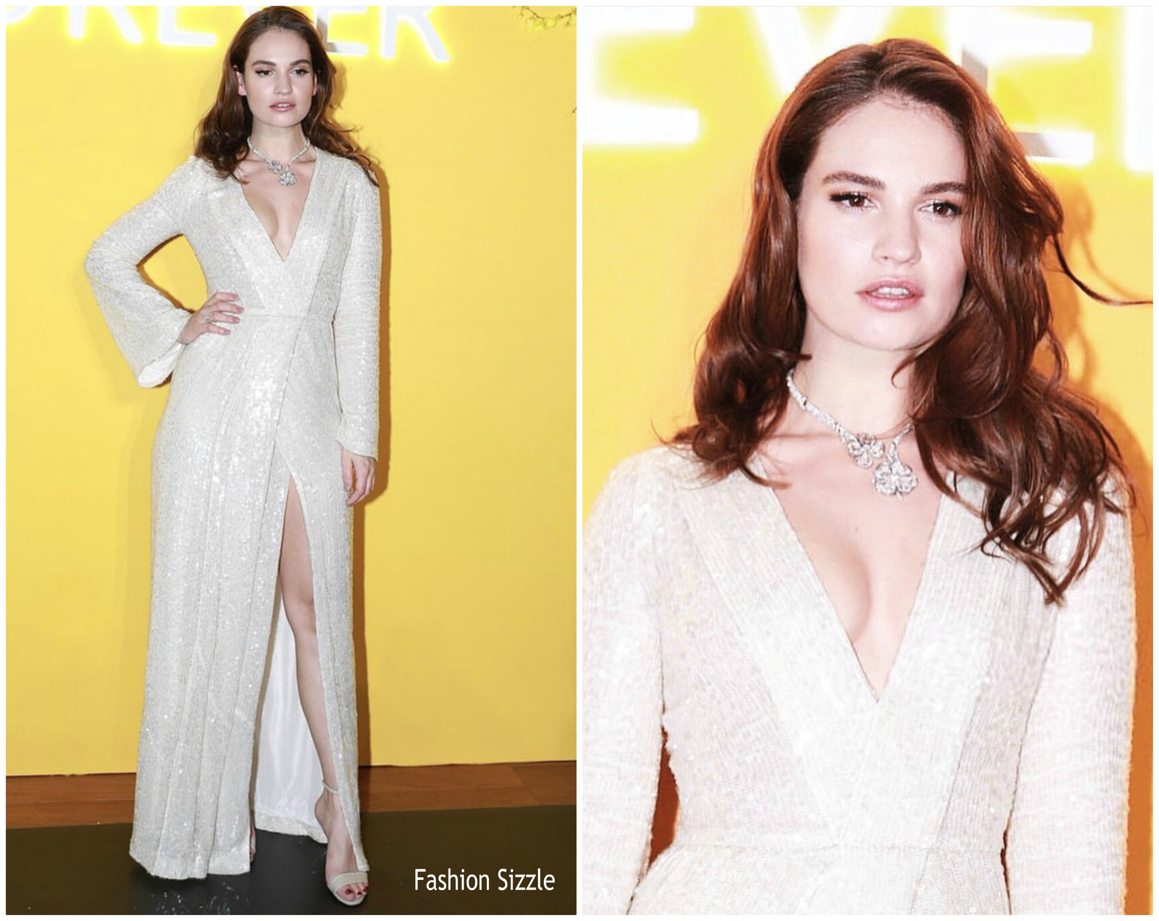 lily-james-in-galvan-bvlgaris-fiorever-jewelry-collection-launch