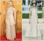 Margot Robbie in Chanel Haute Couture @ 'Mary Queen of Scots' New York Premiere