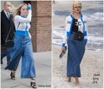 Margot Robbie In Chanel  @ 'Mary Queen Of Scots' SAG-AFTRA  Screening  In New York
