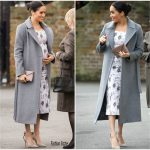 Meghan, Duchess Of Sussex In Brock Collection @ Brinsworth House Visit