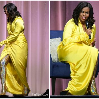 michelle-obama-in-balenciaga-becoming-tour-at -barclays-center