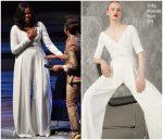 Michelle Obama In Emilia Wickstead  @ 'Becoming' London Book Tour
