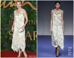 Naomi Watts In Richard Quinn  @ The Fashion Awards 2018