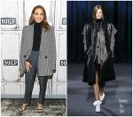 Natalie Portman In  Givenchy  @ Build Studio In New York
