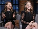 Natalie Portman In  Givenchy@ Late Night with Seth Meyers