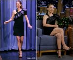 Natalie Portman In  Givenchy @ The Tonight Show Starring Jimmy Fallon