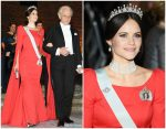 Princess Sofia of Sweden In Zetterberg Couture @ 2018 Nobel Prize Banquet
