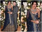 Priyanka Chopra In Sabyasachi @ Wedding Reception
