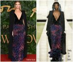 Rosie Huntington Whiteley In Givenchy Haute Couture @ The Fashion Awards 2018