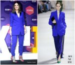 Sandra Bullock In Akris  @ Netflix 'Bird Box' Comic-Con