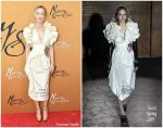 Saoirse Ronan in Gucci @ 'Mary Queen of Scots' New York Premiere