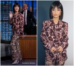 Vanessa Hudgens In Giambattista Valli @ Late Night with Seth Meyers