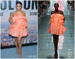 Vanessa Hudgens In Marc Jacobs  @ 'Second Act' New York Premiere