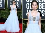 Alison Brie In Vera Wang  @ 2019 Golden Globe Awards