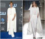Allison Janney In Alberta Ferretti Limited Edition @ 2019 Critics' Choice Awards