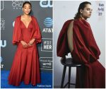 Amandla Stenberg In Khaite @ 2019 Critics' Choice Awards