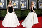 Amber Heard In Monique Lhuillier  @ 2019 Golden Globe Awards