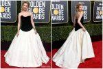 Amber Heard In Monique Lhuillier  @ 2019 Golden Globe Awards