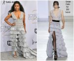 Angela Bassett In Georges Chakra Couture @ 2019 SAG Awards
