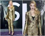 Anya Taylor-Joy In Dolce & Gabbana @ 'Glass' New York Premiere
