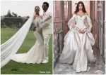 Beyonce Knowles   In Galia Lahav @ Vow Renewal ceremony with Jay Z