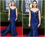Camilla Belle In Jason Wu  @ 2019 Golden Globe Awards