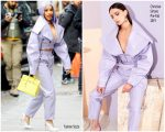Cardi B In Christian Siriano Out In New York