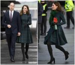 Catherine Duchess of Cambridge In Alexander McQueen @ Dundee Visit