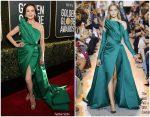 Catherine Zeta-Jones In Elie Saab Haute Couture @ 2019 Golden Globe Awards
