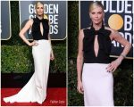 Charlize Theron In Christian Dior Haute Couture  @ 2019 Golden Globe Awards
