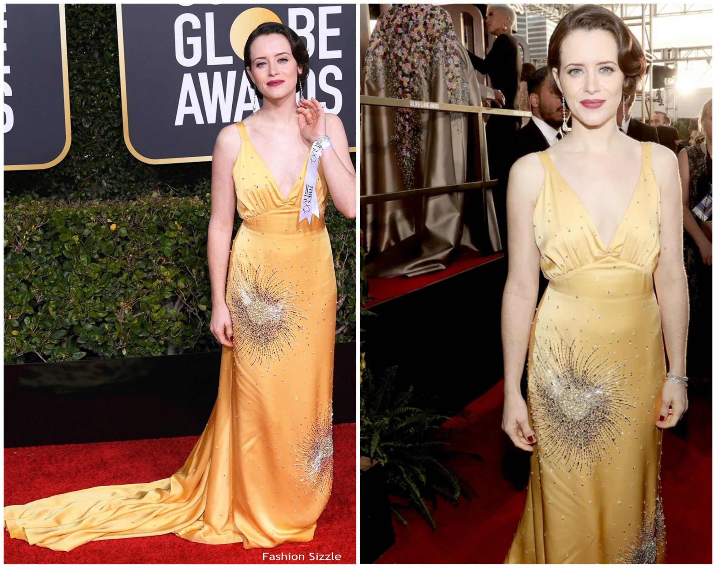 claire-foy-in-miu-miu-2019-golden-globe-awards