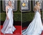 Dakota Fanning In Armani Prive   @ 2019 Golden Globe Awards