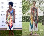 Danai Gurira In Salvatore Ferragamo @ Variety's Creative Impact Awards And 10 Directors To Watch Brunch