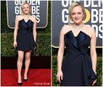 Elisabeth Moss In Christian Dior Haute Couture  @ 2019 Golden Globe Awards