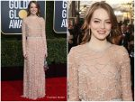 Emma Stone In Louis Vuitton  @  2019 Golden Globe Awards