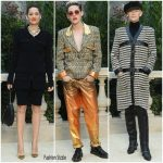 Front Row  At  Chanel Spring 2019 Haute Couture