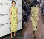 Gemma Chan In Erdem  @ National Board Of Review Annual Awards Gala