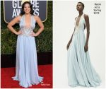 Gina Rodriguez In Reem Acra @ 2019 Golden Globe Awards