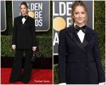 Judy Greer In Alberta Ferretti  @ 2019 Golden Globe Awards