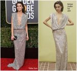 Keri Russell In Monique Lhuillier @ 2019 Golden Globe Awards